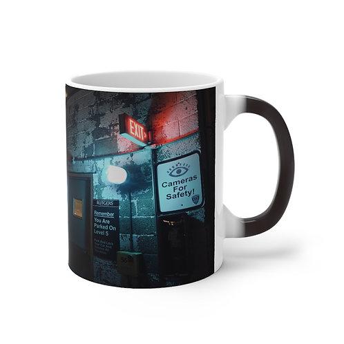 """Glass Was Always Full"" Prisoner of Azkaban Color Changing Mug"