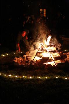 Osadní oheň
