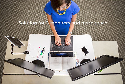 buy purchase choose how to guide comparision trendesks model e-1 height adjustable standing desk big working space 3 monitor laptop pad cell phone office supply book paper document