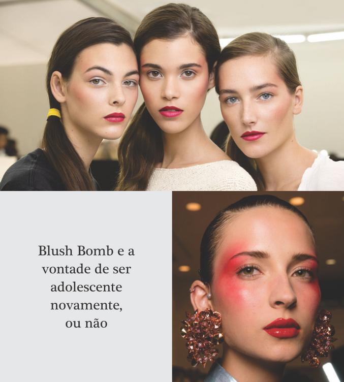 Blush Bomb e a vontade de ser adolescente novamente, ou não