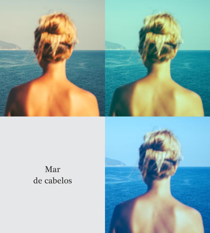 Mar de cabelos