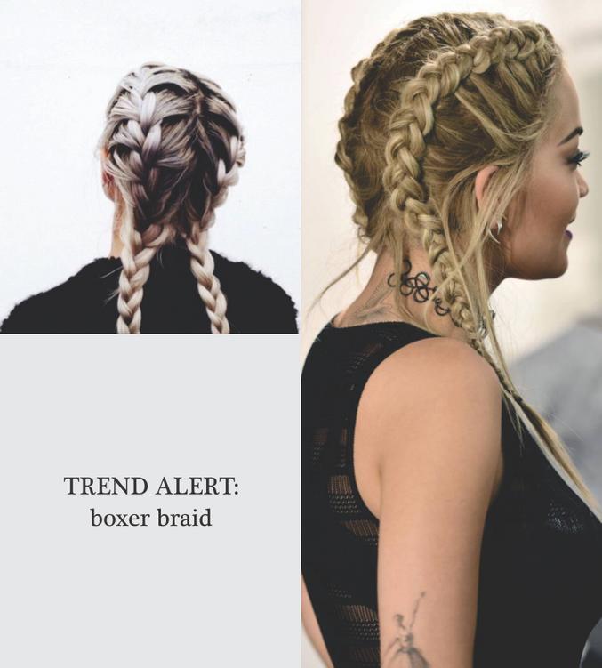 Trend alert: boxer braid