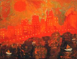 Burning Chicago  Shore Line