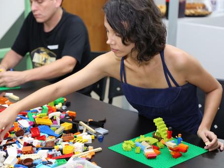 Oficina criativa com LEGO® SERIOUS PLAY®
