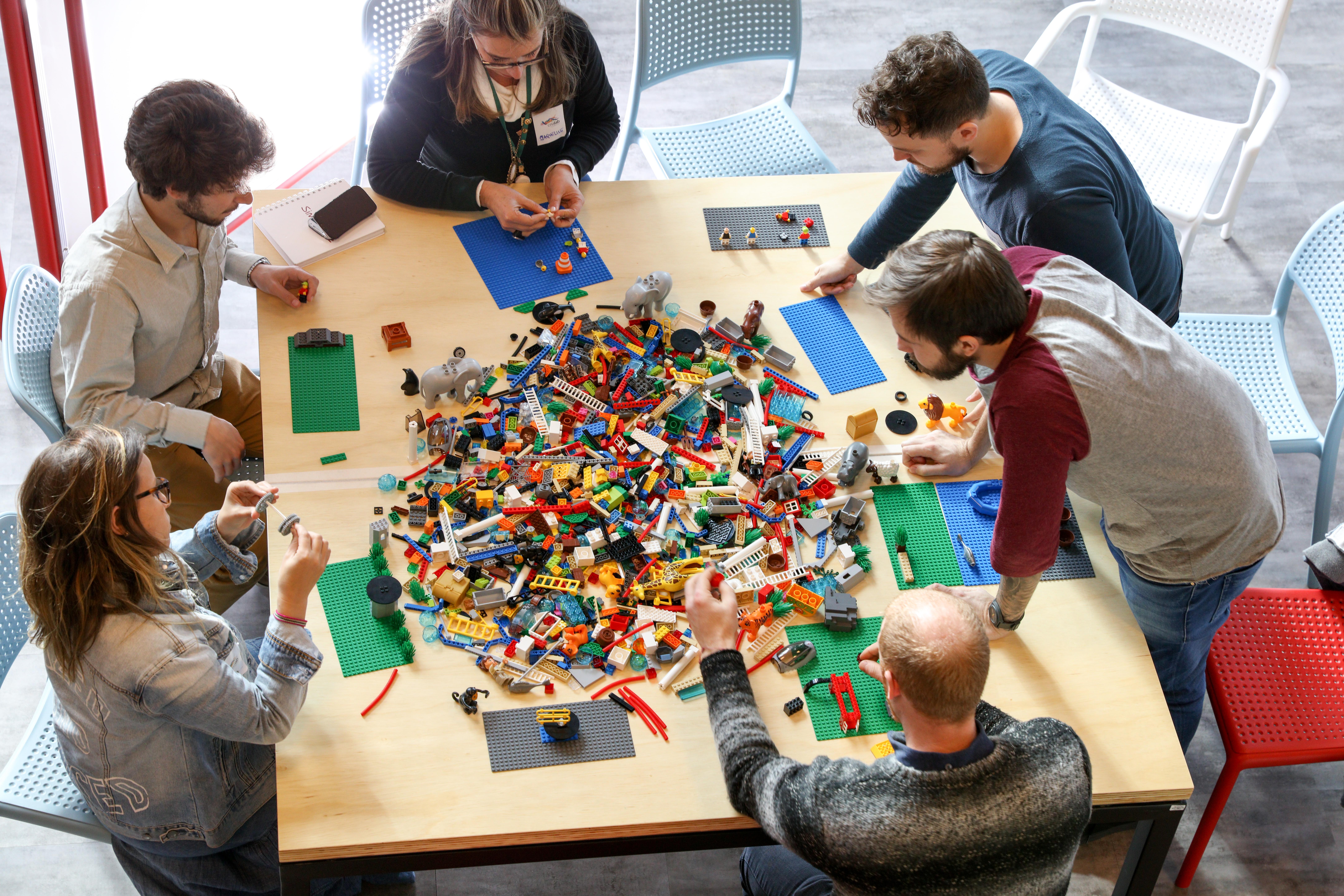oficina LEGO SERIOUS PLAY em Curitiba