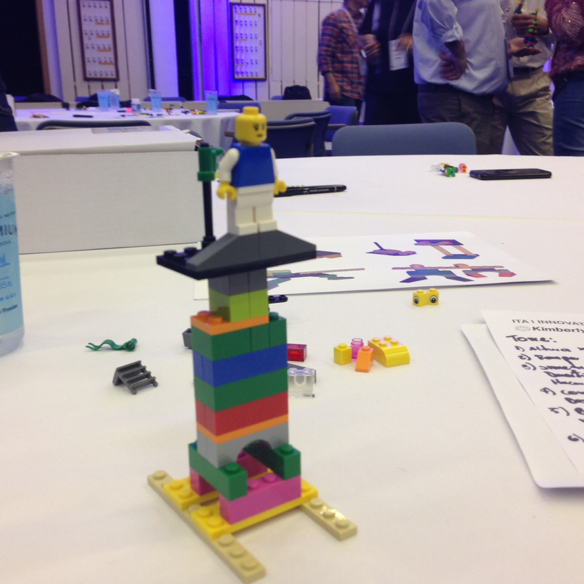 LEGO SERIOUS PLAY | Workshop Integração