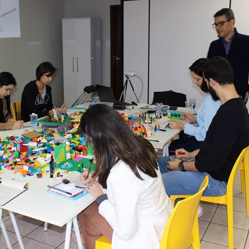 Oficina com LEGO SERIOUS PLAY