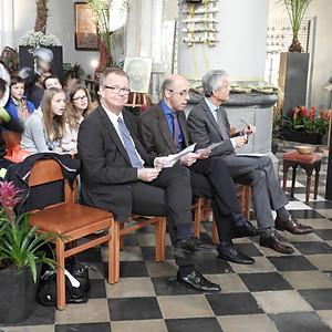 Célébration d'Accueil des élèves de 1ère secondaire à l'Eglise Saint Pierre