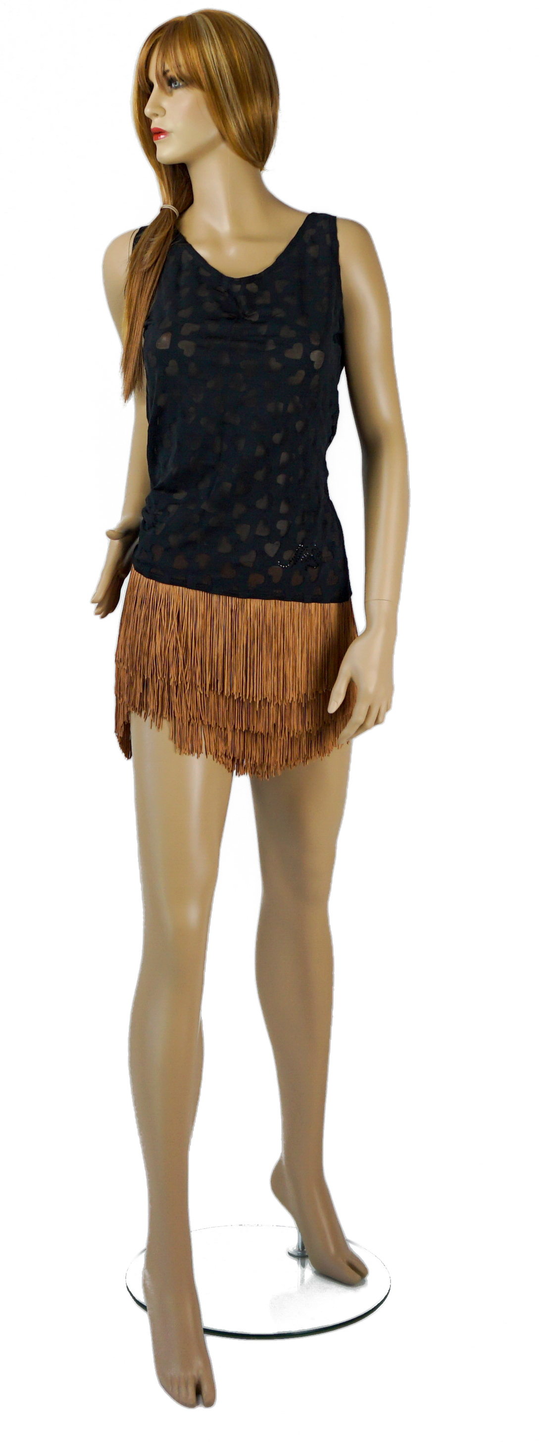 Top-$50 Fringe shorts-$170