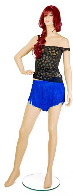 Top-$50 Fringe shorts-$170