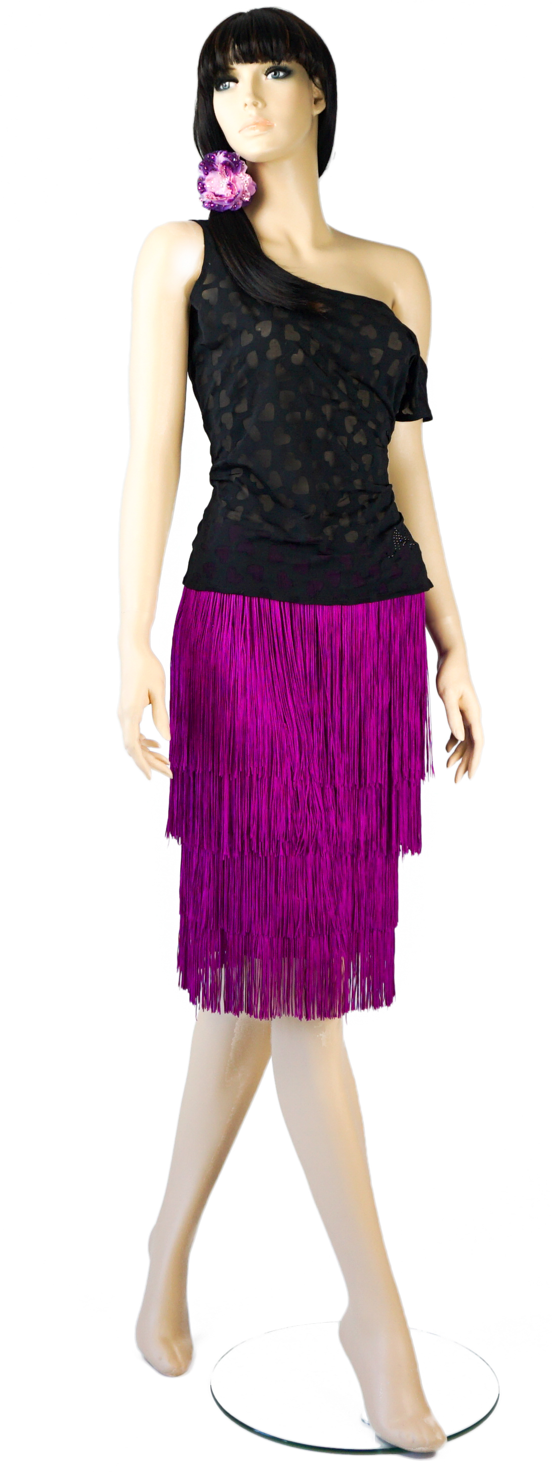 Top-$50 Fringe Skirt-$220