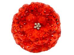Flower with SWAROWSKI $45