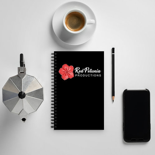 Red Petunia Productions Spiral Notebook