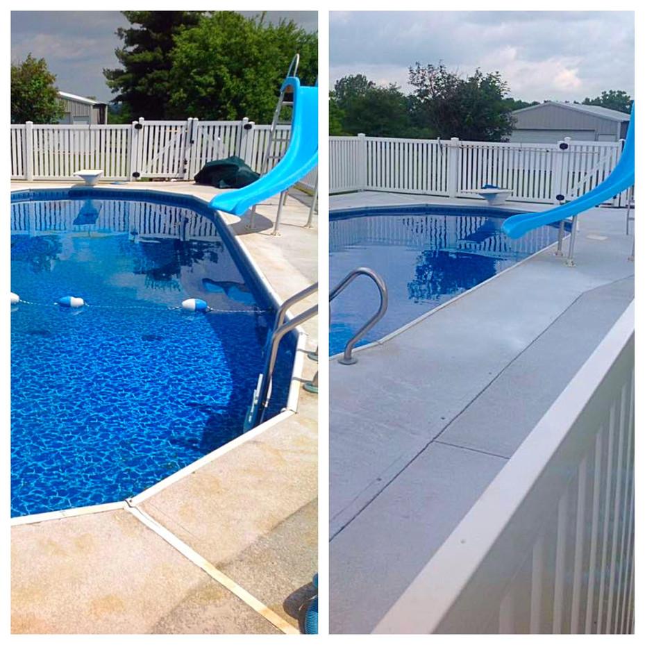 Poolside Concrete