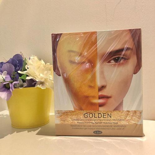 皇室黃金高效美白緊膚精華面膜