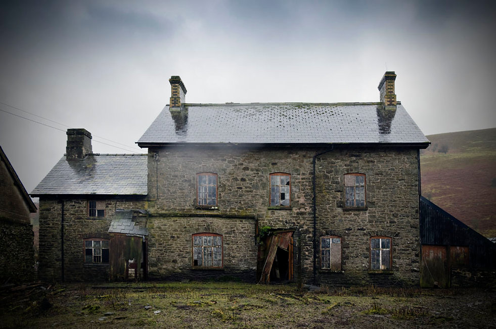 House of the Sleeping Bird, Wales, Urbex, Abandoned, Derelictaphy