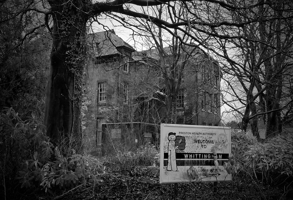 Whittingham Lunatic Asylum, Preston, Urbex, Abandoned