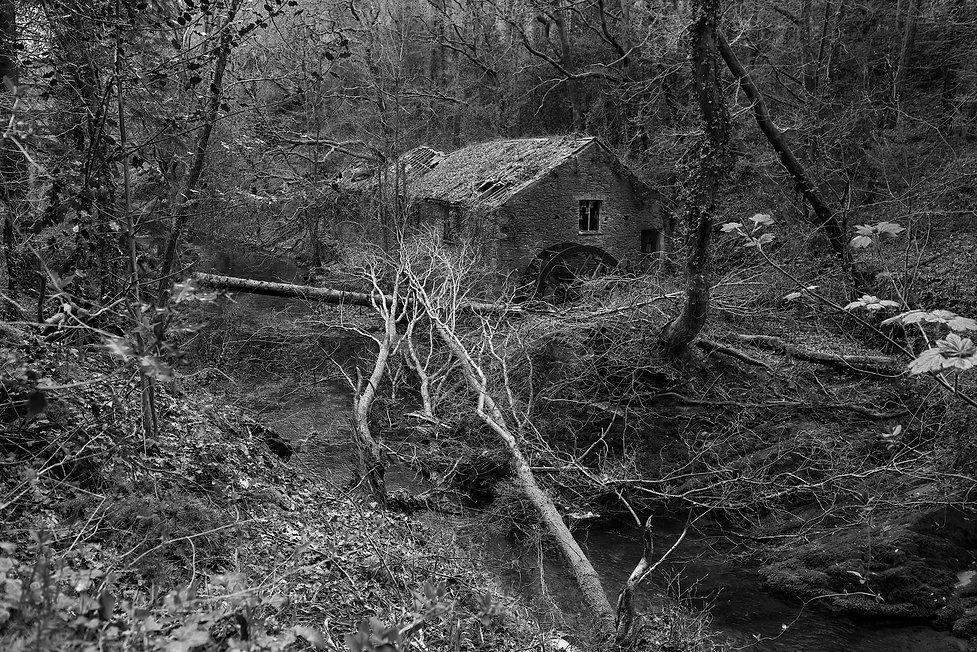 Leri Tweed Mill, Tal-Y-Bont, Wales, Urbex, Abandoned