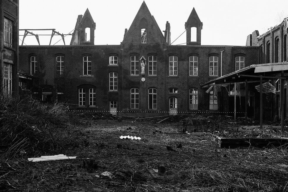 the green school, belgium, urbex, abandoned