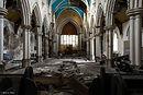 St.Paul's Church, Bradford, Miranda, Blue Church, Urbex, Abandoned