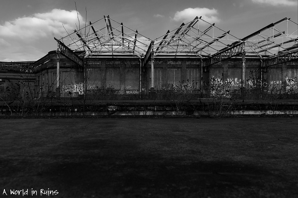 Mayfield Train Station, Manchester, Urbex, Abandoned