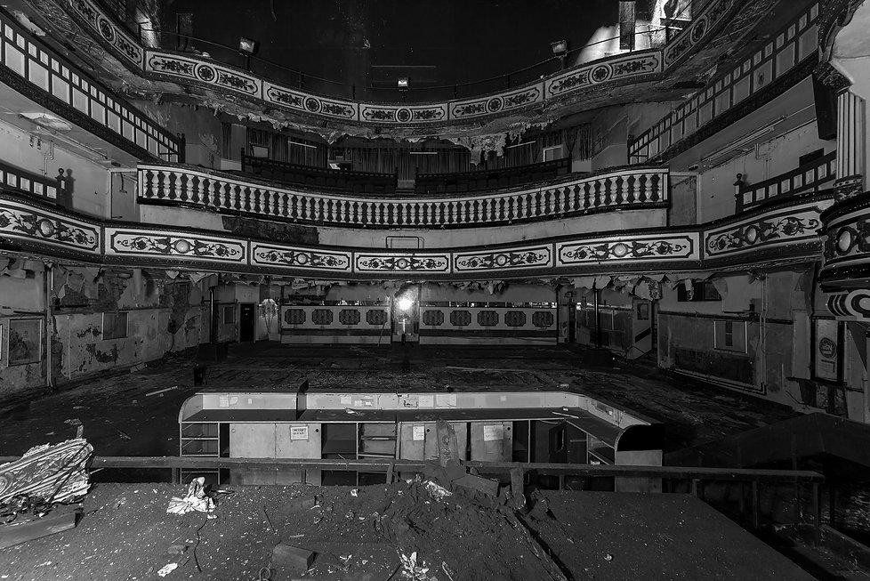 Victoria Theatre, Salford, Urbex, Abandoned