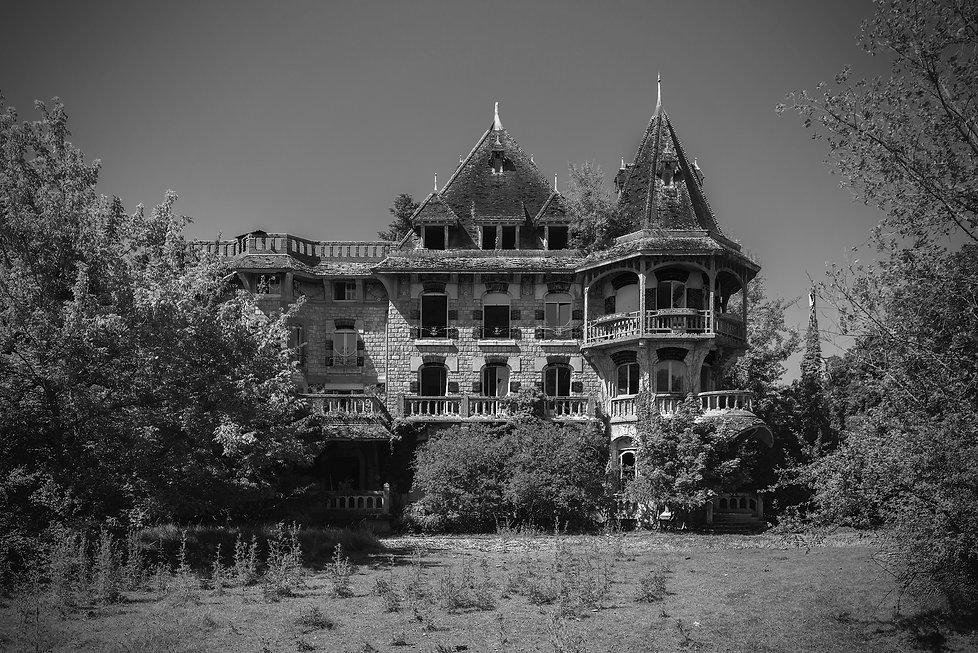 Chateau Colimacon, France, urbex, abandoned