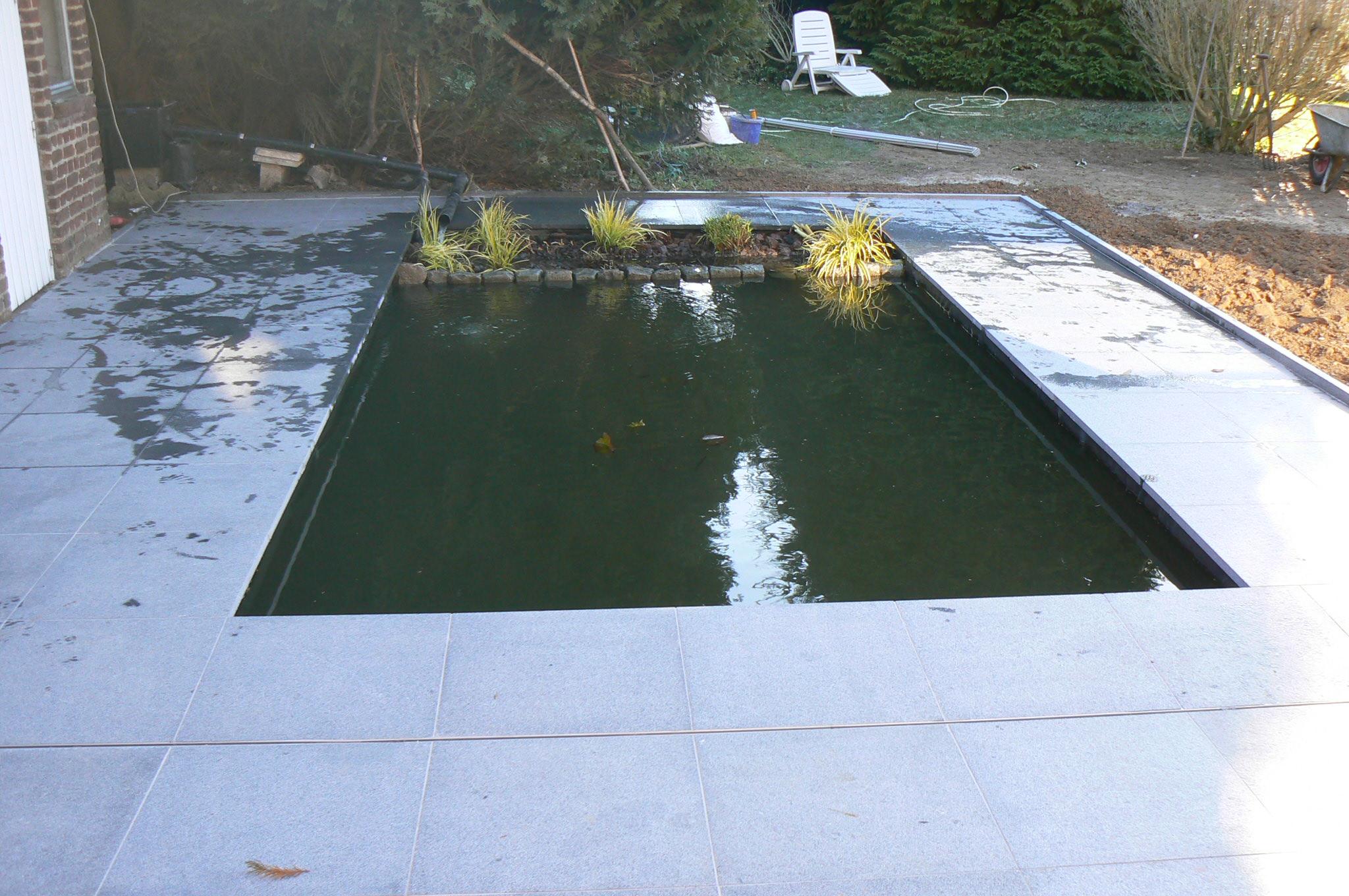 Bassin terrasse