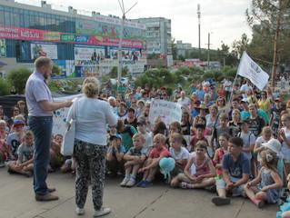 Фадина пообещала Ткачуку модернизировать детскую площадку на Гашека
