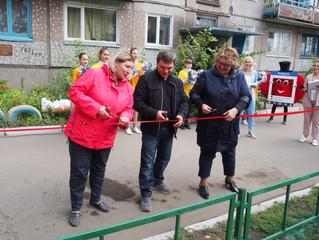 На территории Октябрьского округа появились обновленные детские площадки
