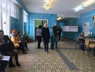 На выборах президента депутат Инна Гомолко проголосовала за мирное будущее