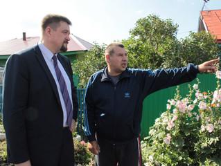 Олег Афанасьев проконтролировал ремонт улицы 3-я Новостроевская
