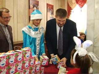 Ребятишки Советского округа встречают Новый год