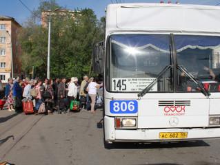 «Оплот» поблагодарил Назарова за оперативный возврат дачного автобуса № 145