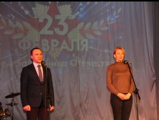 В Одесском районе отпраздновали День защитника Отечества