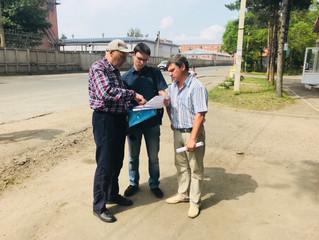 Юрий Козловский разбирается с актуальными проблемами поселка «40 лет Октября»