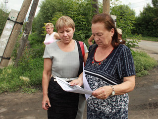 """""""Оплот"""" помог решить проблему засоренных ливневок на улице Лермонтова."""