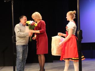 В Азовском немецком национальном районе отпраздновали 28-летие муниципалитета