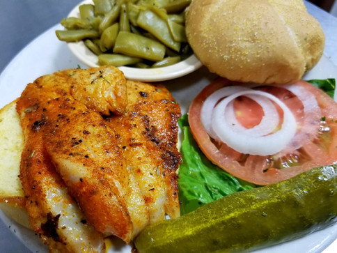 Our Grouper Sandwich is one of our newest menu items, and is already a customer favorite!