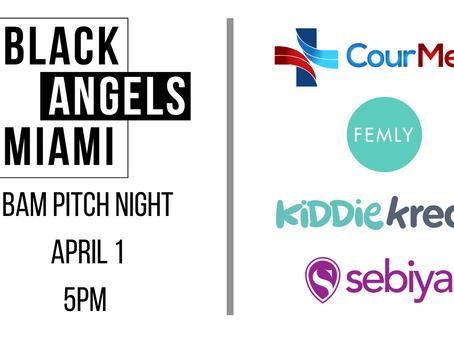 BAM Pitch Night: 5pm Thursday 1st April