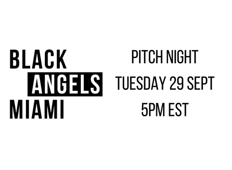 BAM Pitch Night: 5pm Tuesday Sept 29th