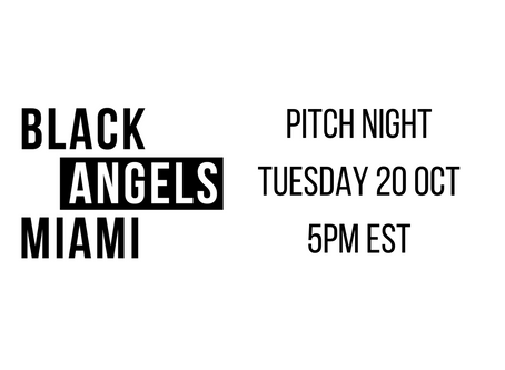 BAM Pitch Night: 5pm Tuesday 20th October