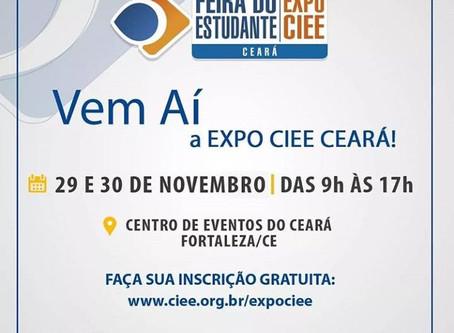 A Faculdade Evolução estará participando da 1a EXPO CIEE