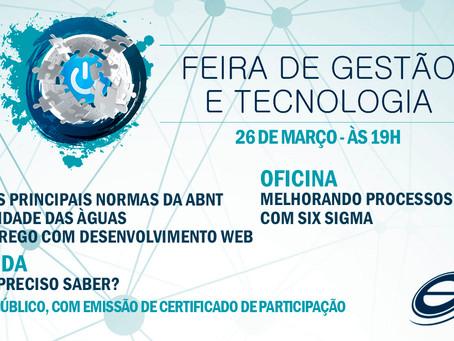 INSCRIÇÃO - FEIRA DE GESTÃO E TECNOLOGIA 2019