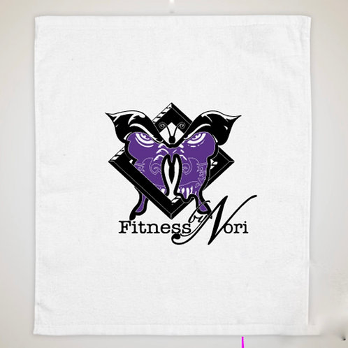 Fitness by Nori Logo Towel