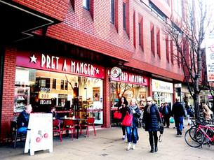 ロンドンSandwichレポートVol.3 / サンドイッチが豊富なカフェ・チェーン「Pret A Manger(プレタマンジェ)」