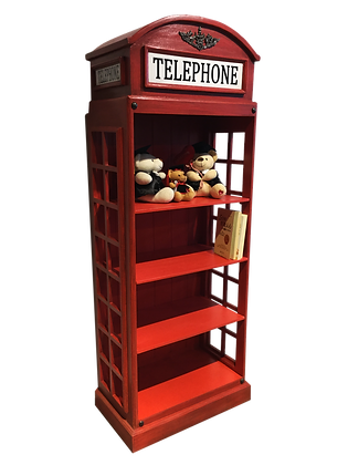 TELEPHONE rack