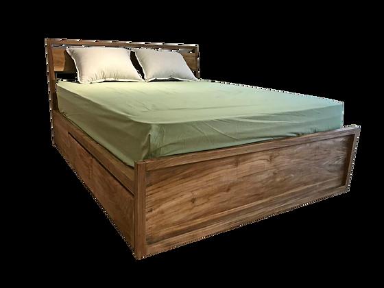 VANGUARD storage bedframe