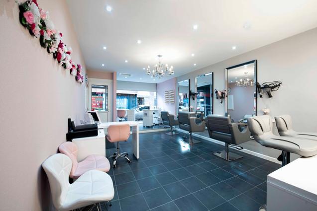 Hair Salon Interior Photography Glasgow.