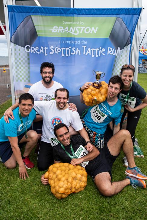 2019 Scottish Tattie Run + Chairty Races